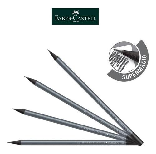 lápis preto de escrever redondo n°2 super soft black c/72