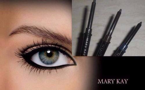 lápis retratil para os olhos black mary kay