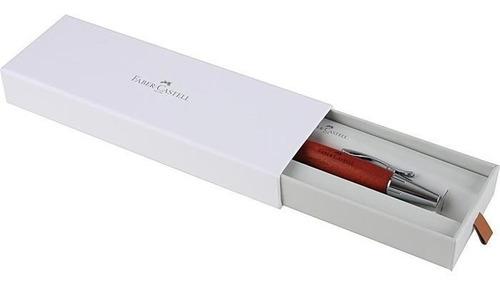 lapiseira emotion faber linha fw 1.4mm chrome marrom mancha