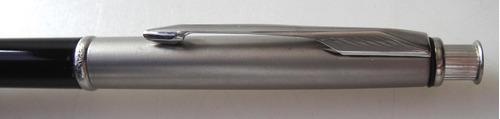 lapiseira parker insignia laca preta tampa de aço 0,5mm novo