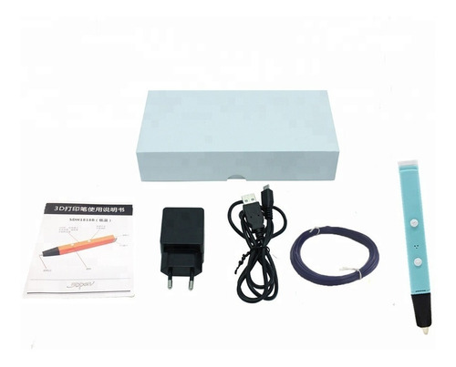 lapiz 3d impresora lapicera baja temperatura filamentos plc