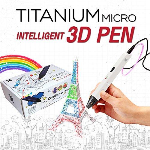 Lapiz 3d Para Ninos Blanco Doodle Y Crear Modelos En 3d