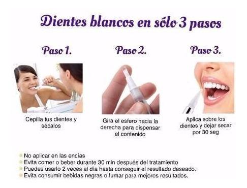 lapiz blanqueador dental