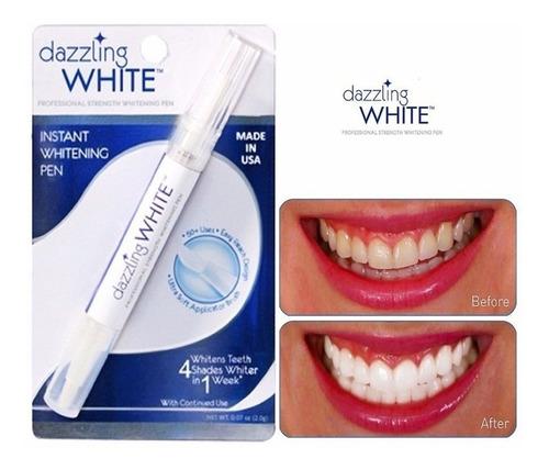 lapiz blanqueador dientes  blanquear instantaneo white pen