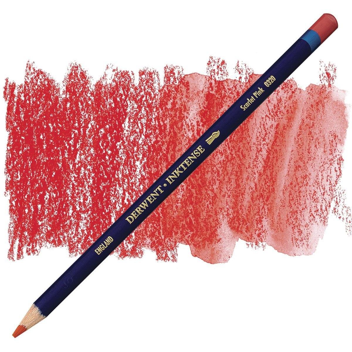 /0530/Inktense/ /L/ápices de color rojo Derwent/