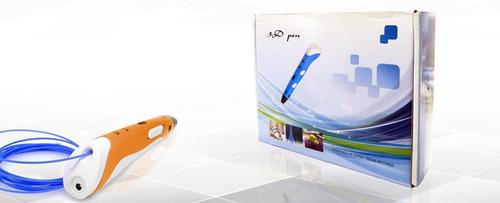 lapiz de impresion 3d liviano + filamentos y envio gratis