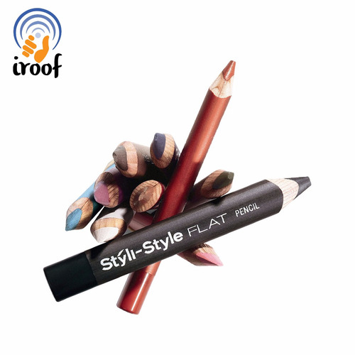 lápiz de ojos styli style flat pencil