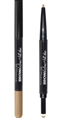 lápiz delineador de cejas brow define & fill duo 250 blonde
