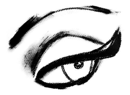 lapiz delineador de ojos negro