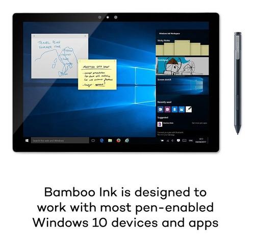 lapiz digital wacom bamboo ink