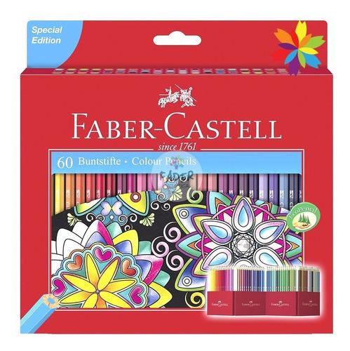 lapiz faber castell original caja x60 colores barrio norte