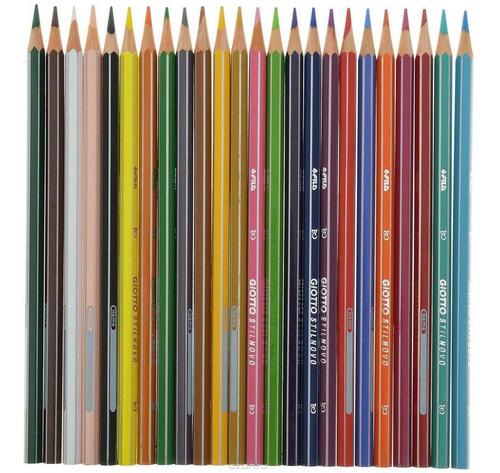lapiz giotto stilnovo 24 colores pinturitas calidad premium
