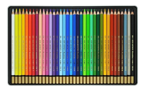 lapiz koh i noor polycolor lata x 36 hardmuth