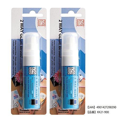lápiz kuretake memory system two way glue pen, carded, jumbo
