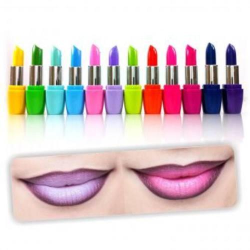 lápiz labial jewelry box kleancolor femme colorful lipstick