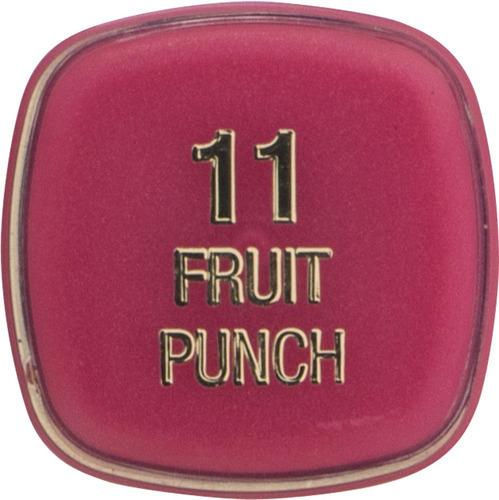 lápiz labial milani, color fruit punch 11, 0.14 onzas