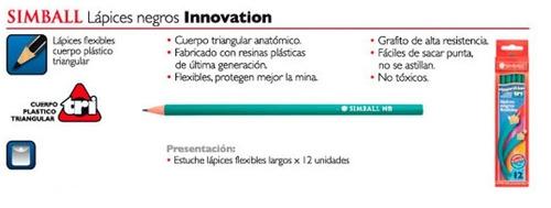 lapiz negro simball innovation caja x 12 unidades