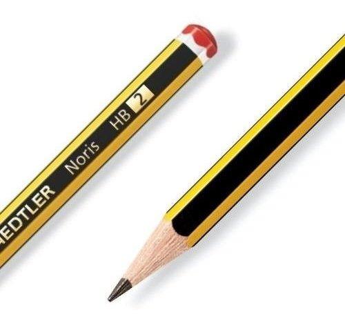 lápiz negro staedtler hb2