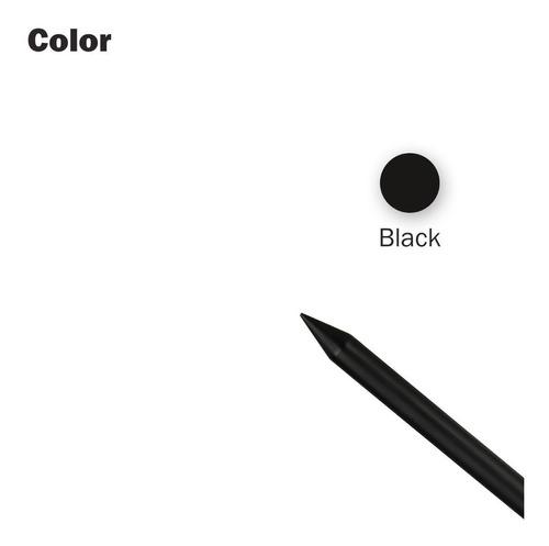 lapiz optico stylus pencil black negro para tablet ipad
