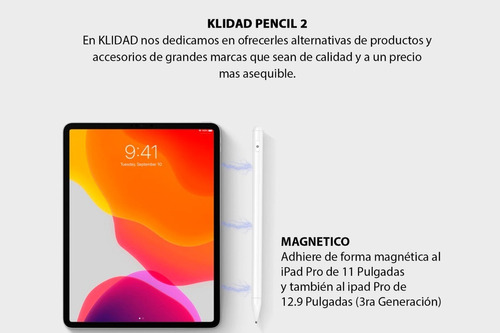 lapiz óptico universal ipad pro air mini y tabletas android