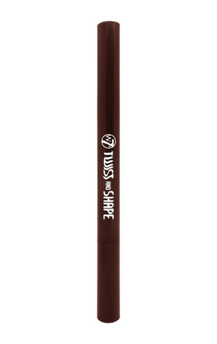 lapiz para cejas w7 twist and shap marron oscuro