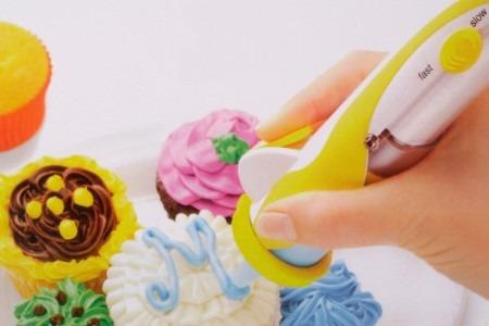 lápiz para decoración de tortas y pasteles microtics