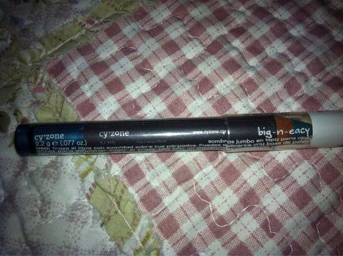 lápiz sombra y delineador turquesa cobalto cyzone