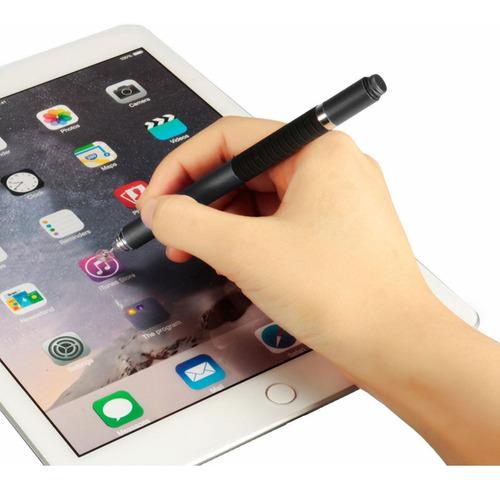 lápiz stylus punta fina, táctil y bolígrafo 3en1 ipad/tablet