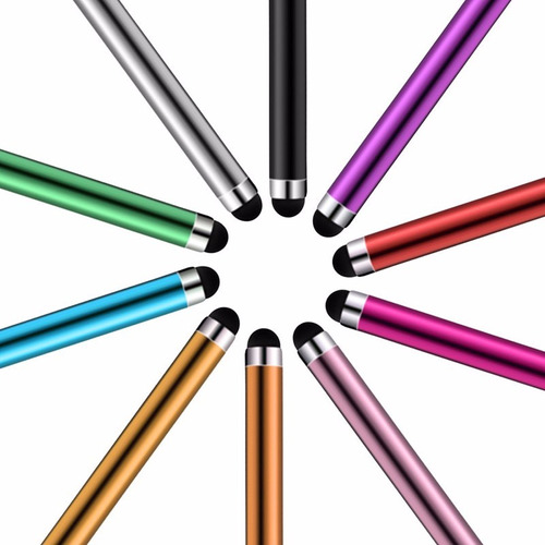 lapiz tactil con clip pantalla capacitiva universal colores