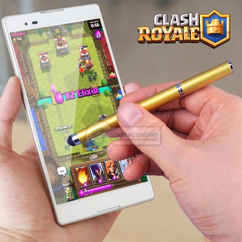Lapiz Tactil Pantalla Juga Clash Royale Dibujo Whatsapp 4999 En