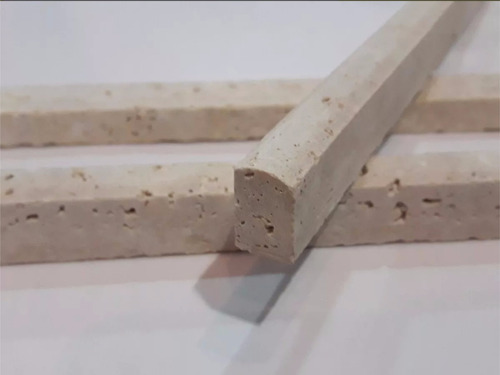lapiz travertino marmol chiaro fachia 1x30 cm guarda