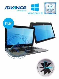 laptop 2 en 1 advance smartpad sp9644 11.6' atom ram 2gb 32g