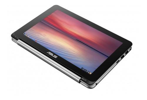 laptop 2 en 1 asus chromebook c101pa-fs002 - 10.1  -rockchip