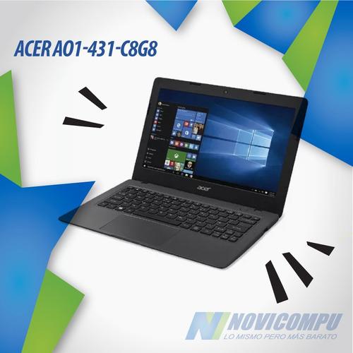 laptop acer 14 pulg+ 2gb ram+ w10+ camara+ bt+wifi