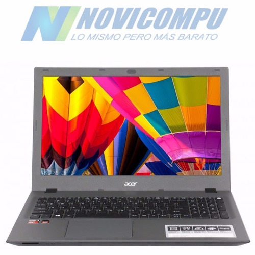 laptop acer a8-7410 +4gb +500gb +15.6  dvdrw, w10+ video r5