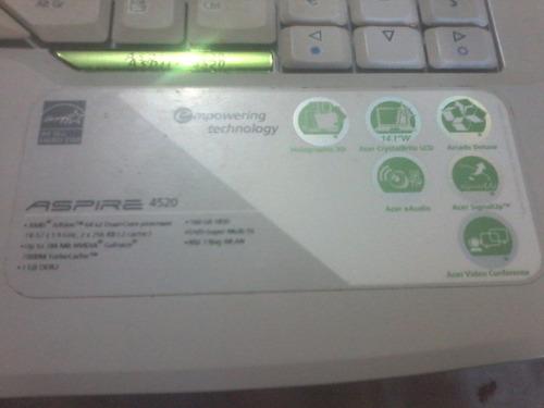 laptop acer aspire 4520 para reparar