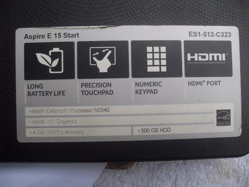 laptop acer aspire e 15 piezas repuestos