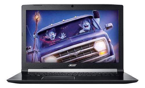 laptop acer core i7 8va, gamer gtx1050, 8gb, 1tb a715-72g-79
