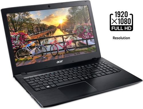 laptop acer e 15, 8th gen intel core i5 8gb ram 256 ssd