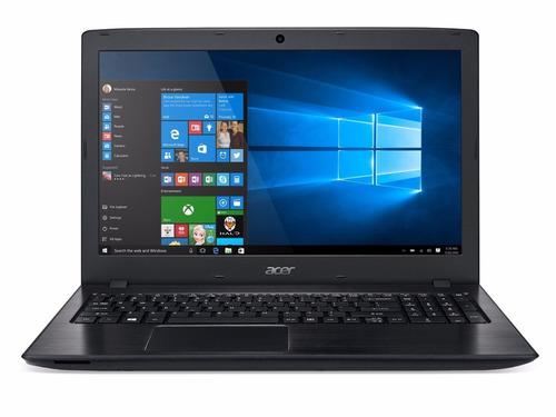 laptop acer i3-7100u 2. 4ghz+4gb+ 1tb, 15.6  dvdrw  wi10