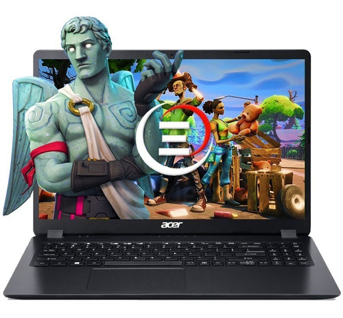 laptop acer intel i5 10ma gen 4ram 1tb 15.6  w10 cam bt wifi