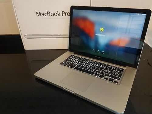laptop apple macbook pro 15  - core i7 - impecable - caja