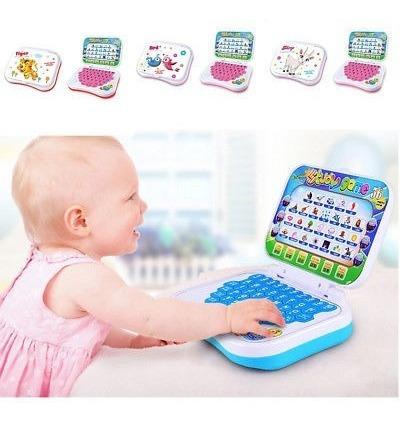 laptop aprendizaje estudio juguete bebé niños educativo jueg