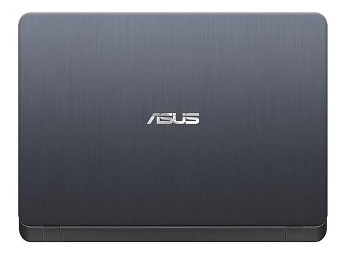 laptop asus 14  intel celeron 4 gb 500gb x407ma-bv088t