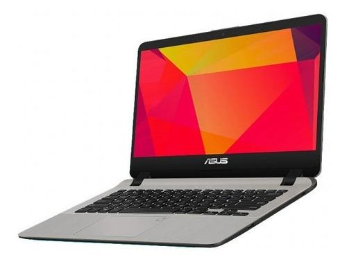 laptop asus a407ua-bv473t ci3-7020u 4gb 1tb 14  win 10 plata