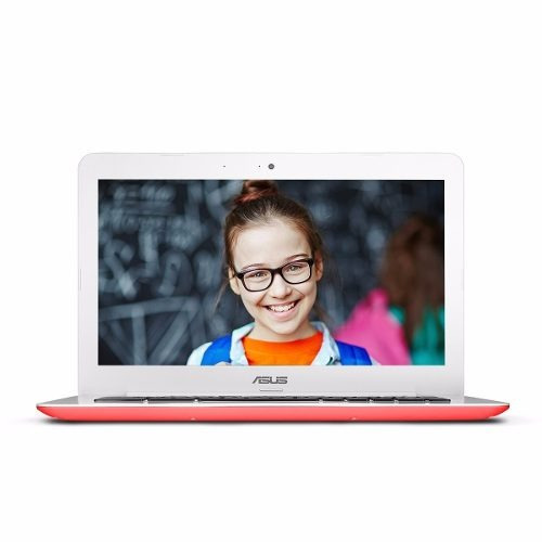 laptop asus chromebook c300sa 13.3 intel 4gb 16gb roja n