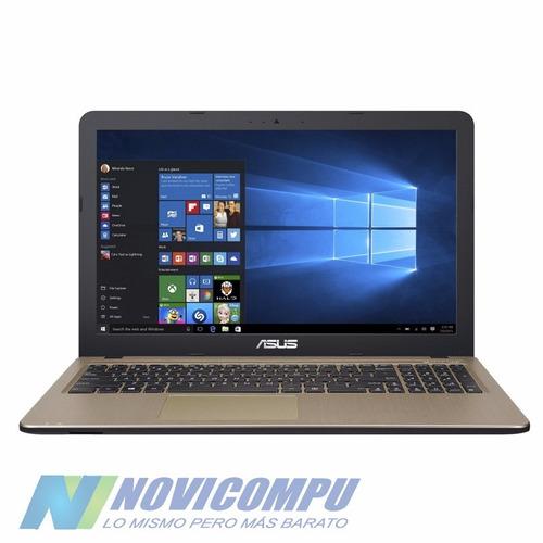 laptop asus i3 5020u+ 4gb+ 1tb+ dvdwr+ bt+ w10+ 101 teclas