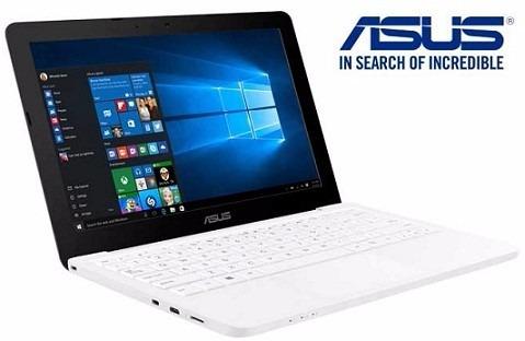 laptop asus mini celeron dual core 11.6  hdmi 500gb