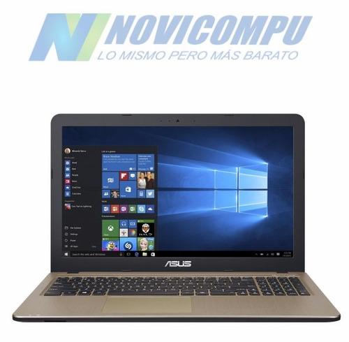 laptop asus n3710 4gb, 1tb, 15.6  dvdrw, tec numérico+ w8