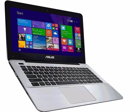 laptop asus x455l core i3 6005u/1000gb/4gb/14